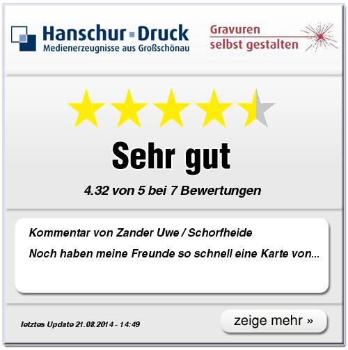 Kundenbewertung von www.gravuren-selbst-gestalten.de